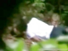 Teens Caught Having Sex in the Forest by their Classmates