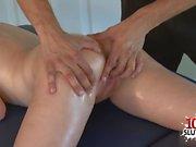 Small tits pornstar blowjob and massage