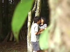 Gorgeous Asian teen has her boyfriend fucking her pussy in
