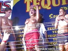 Sexy Wet T-Shirt Contest at Tequila Frogs