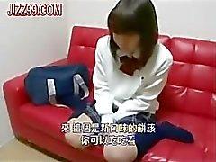 schoolgirl cheated blowjob
