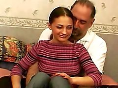 Young Gypsy Girl Fucked by Old Man