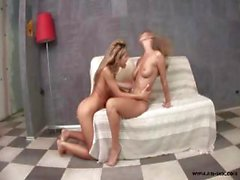 Experienced lesbian girls offer each other unforgetable momments