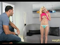 Tiny new Teen on the casting couch