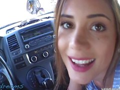 POV dreams - Little Caprice - I stoped his car and seduced him