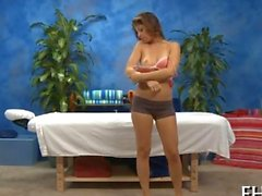 Beauty awaits her sensual massage