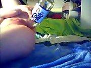 Amateur Teen Webcam Bottle show off
