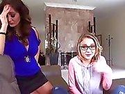 Busty milf Ava Addams teaches teen Kota Sky how to fuck