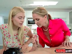 Natalia Starr and Julia Ann amazing orgy