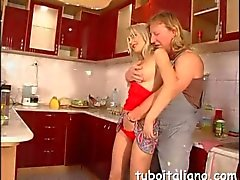 Big boobs blonde slut loves to be handled