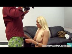 Terrified Russian Anal and Creampie Casting