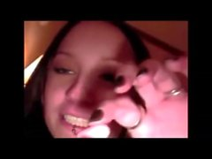 Amateur ass to mouth on real homemade