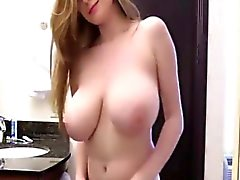 College Busty Teen Shows Off