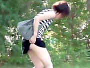 Japanese whores pissing