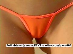 Carli easy going teenage easy going teenage blonde on the beach