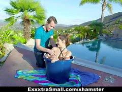 ExxxtraSmall - Petite Teen Isabella Nice Gets Cum Facial