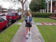 Allysin Chaynes & Hayley Paige - Frathouse Fucking