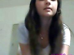 Webcam teen fingers anal