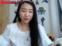 Hot Asian Webcam Teen Playing