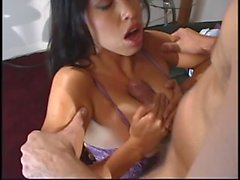 Petite young slut spreads legs and fingers her tight pink pussy