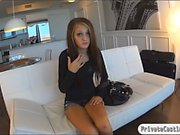 Beautiful teen babe fucked on tape in her casting session