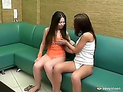 Lesbians in the waiting room