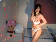 Chubby Korean Nurse Outfit Webcam
