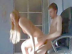 Ivana fucking me on Boss chair