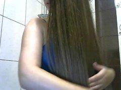 Fantastic Long Haired Hairplay and Brushing, Long Hair, Hair