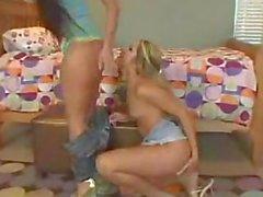 Lesbian Strap-on Fun