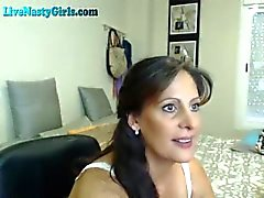 Milf Loves To Tease On Webcam