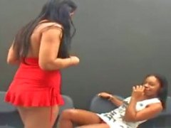 Brazilian Lesbians Kissing 2