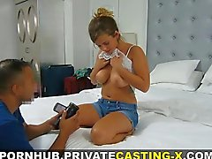 Private Casting-X - Bigtitted teen loved my dick