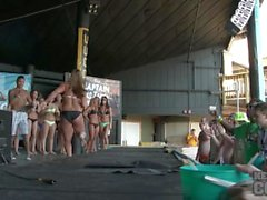Hot Bikini Dance Contest at La Vela Many Beautiful Girls