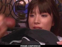 Multiple cock sucking xxx porn show with Hinata Tachibana