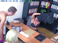Real Casting for German Couple with Female Porn Agent