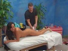 Tiffany seduced in massage room
