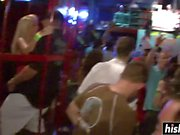 Horny girls get naked at the party