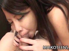 Manami Sasaki JAV Teen Cum Filled Fucking
