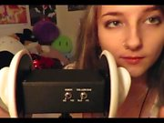 ASMR Honey on your ears and licking it off everything