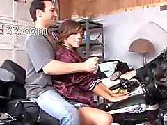 luxury schoolgirl fucks in the garage