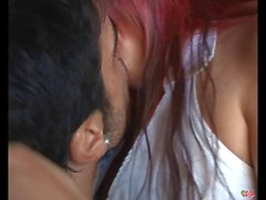 PUTA LOCURA Latin Redhead Teen fucks a guy in wheelchair