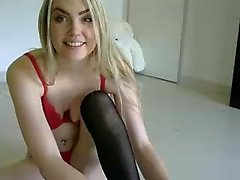 Romanian Amateur Blonde from Galati Romania Striptease