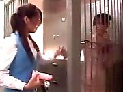 Kinky Asian Lesbians Playing At Work