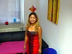 sexy thai girl fucks her self (sweet german dirty talk)