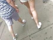 Coupleforfunnyc thick teen NYC Daisy dukes