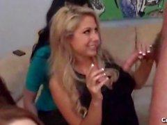 Blonde Babe Cheats on Boyfriend with Stripper on her Birthday