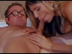 Gina Gerson gangbang with old mans