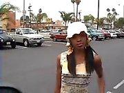Skinny girl in the street 1