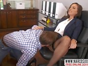 Responsible Not-Mama Abigail Mac In Stockings Loves Good Sex